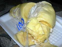 Durian flesh