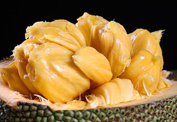 Jackfruit's flesh